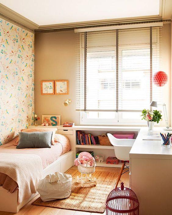 40 fotos de papel para pared vintage estreno casa for Dormitorio 8m2