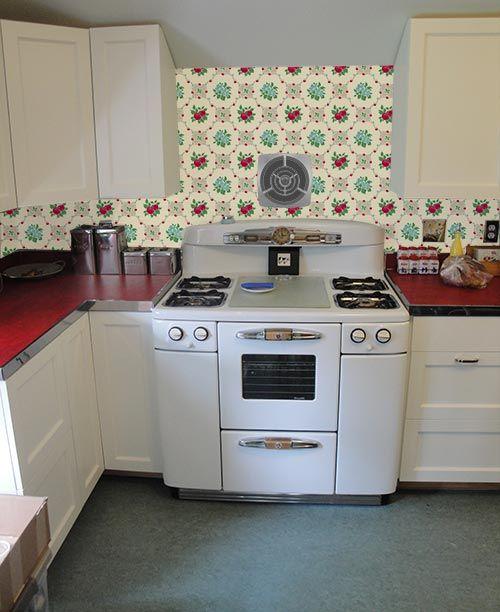 Papel para cocina papel pintado vinilico para la cocina - Papel pared cocina ...