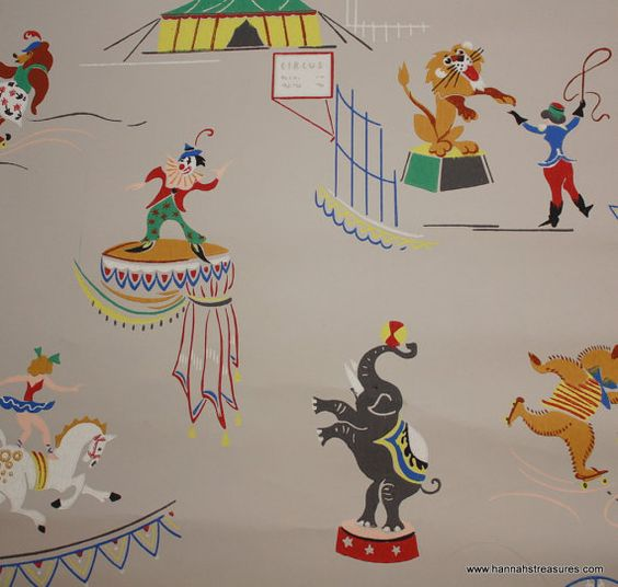 Papel de Pared Circo