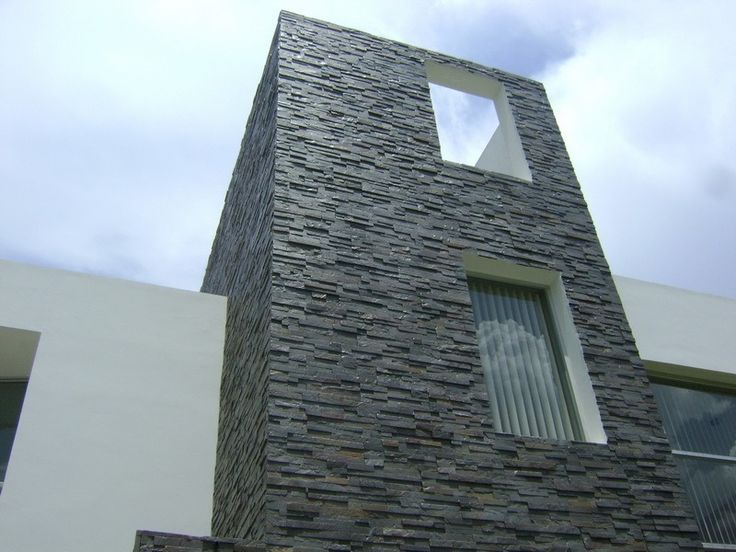 M s de 30 revestimientos de fachadas y paredes exteriores - Revestimientos de piedra ...