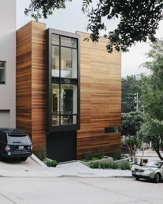 M s de 30 revestimientos de fachadas y paredes exteriores - Revestimiento para paredes exteriores ...