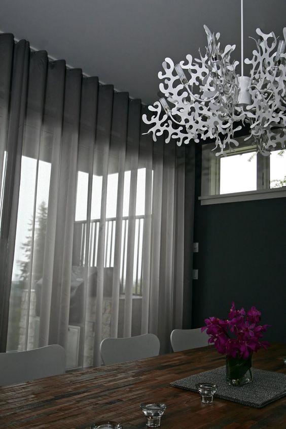 50 dise os de cortinas modernas para sal n 2017 estreno for Ideas para cortinas de salon