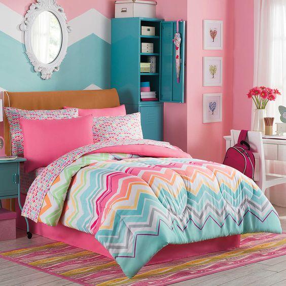 41 ideas de colores para habitaciones juveniles estreno - Habitaciones decoradas juveniles ...