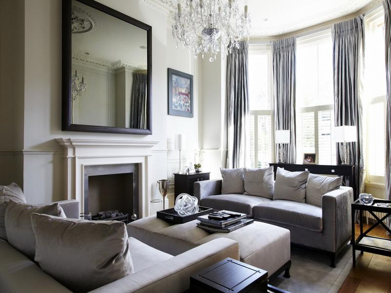 cortinas modernas sala estar portada - Cortinas Salon