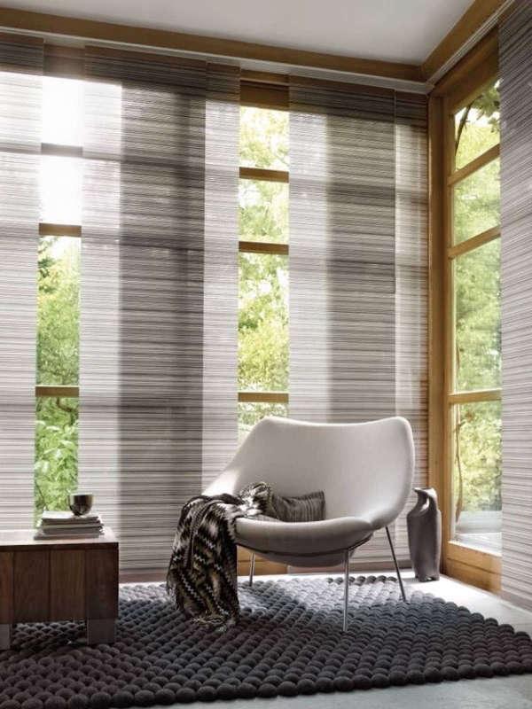 Estores Para Salón: Más de 30 Ideas Para Controlar la Luz - Estreno Casa