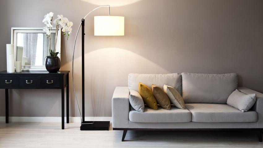 lampara blanca grande