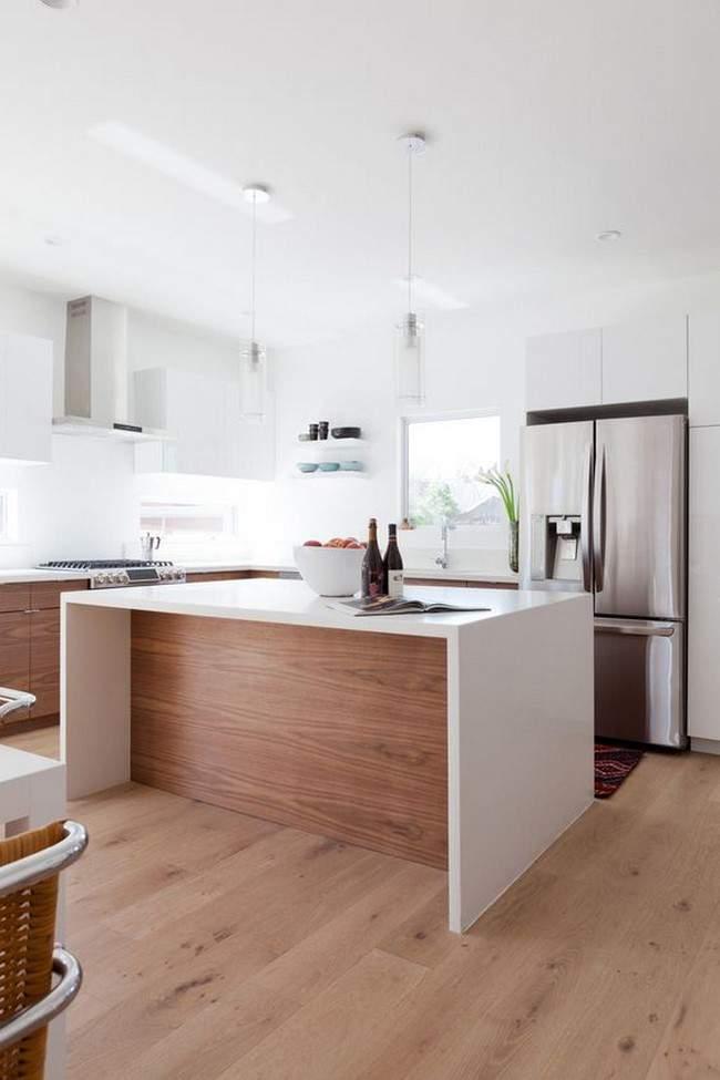 las 30 cocinas blancas modernas que la van a petar el 2017