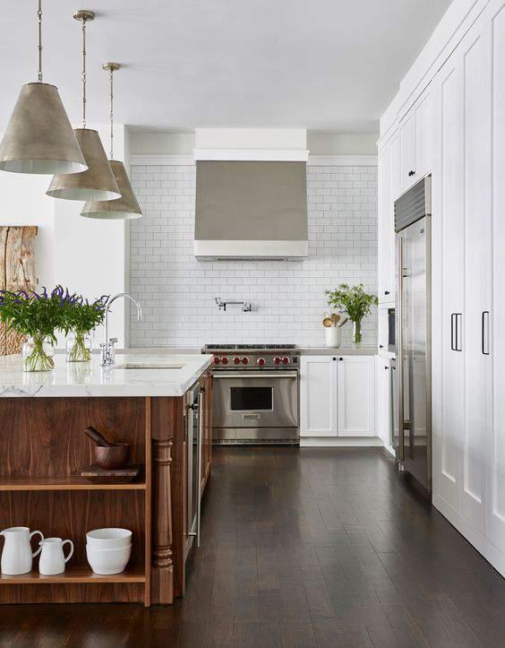 Las 30 cocinas blancas modernas que la van a petar el 2017 ...