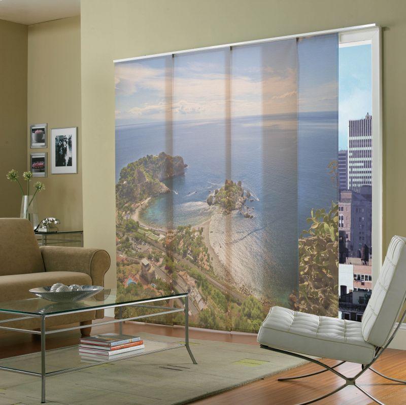 Estores para sal n m s de 30 ideas para controlar la luz estreno casa - Fotos panel japones ...