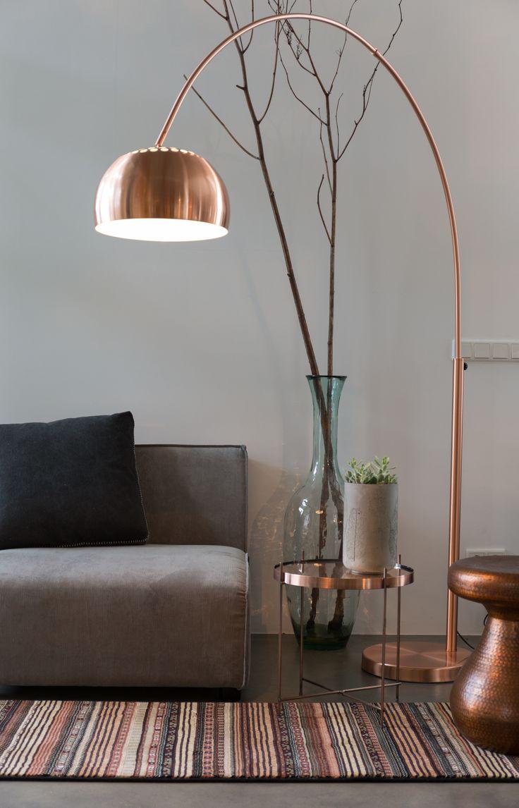 40 l mparas de sal n modernas para decorar con estilo - Lamparas para salones ...
