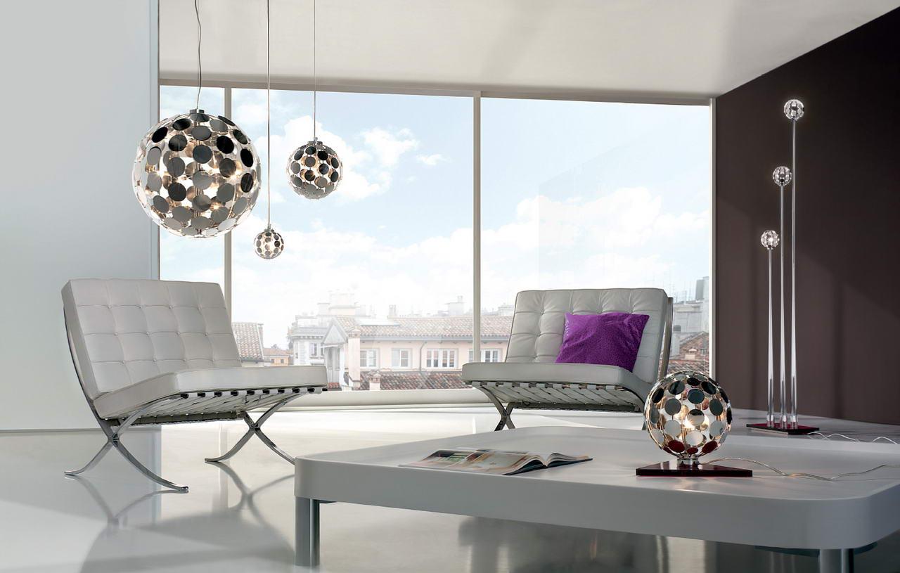 40 l mparas de sal n modernas para decorar con estilo estreno casa - Lamparas techo modernas ...