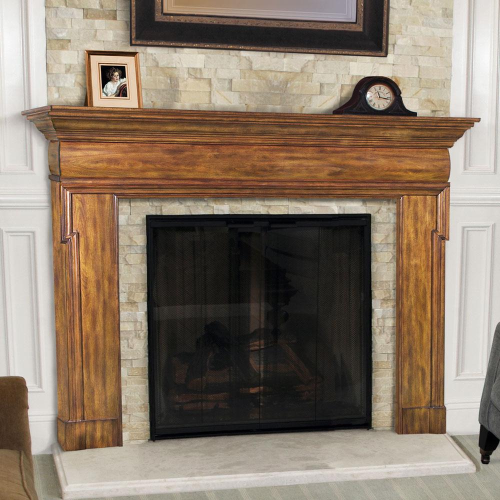 45 fotos de chimeneas r sticas perfectas para tu hogar - Chimeneas de madera decorativas ...