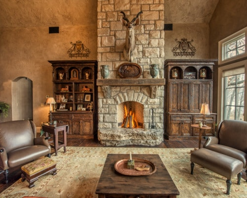 45 Fotos De Chimeneas Rusticas Perfectas Para Tu Hogar Estreno Casa - Tipos-de-chimeneas-rusticas