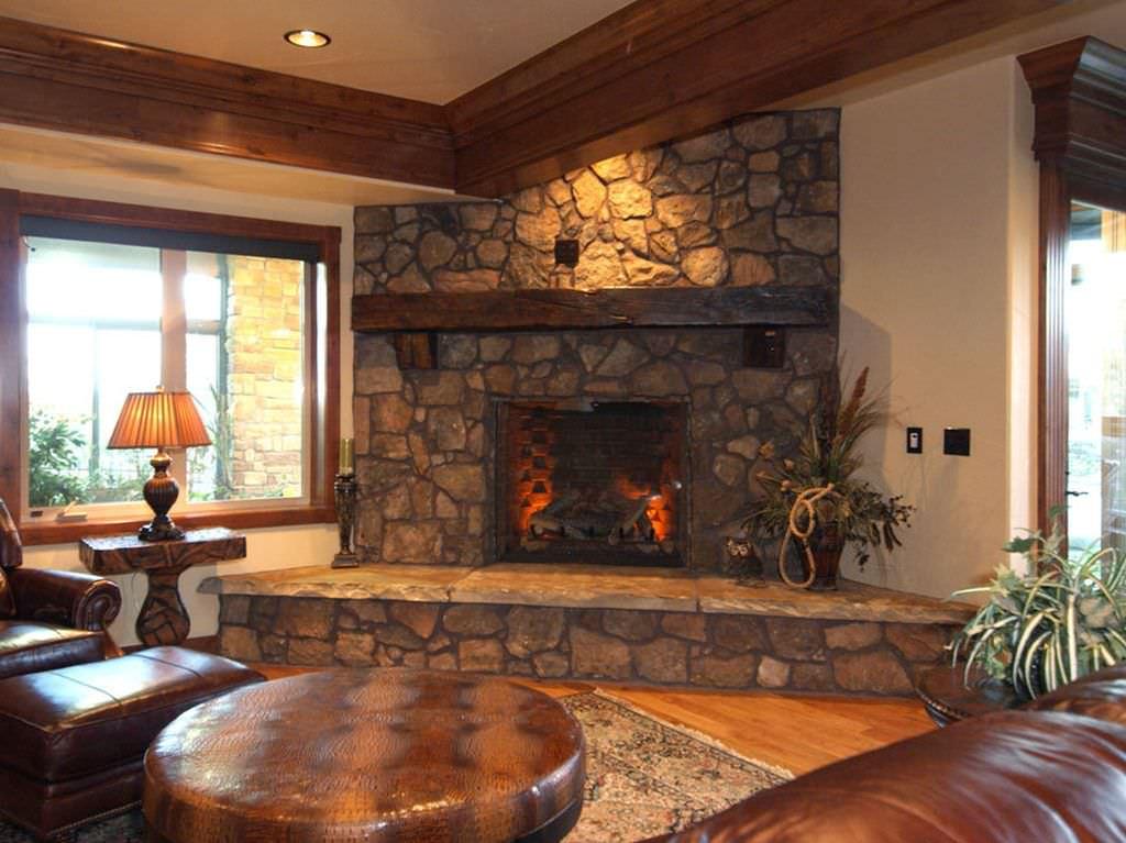 45 fotos de chimeneas r sticas perfectas para tu hogar - Decoracion con chimeneas ...