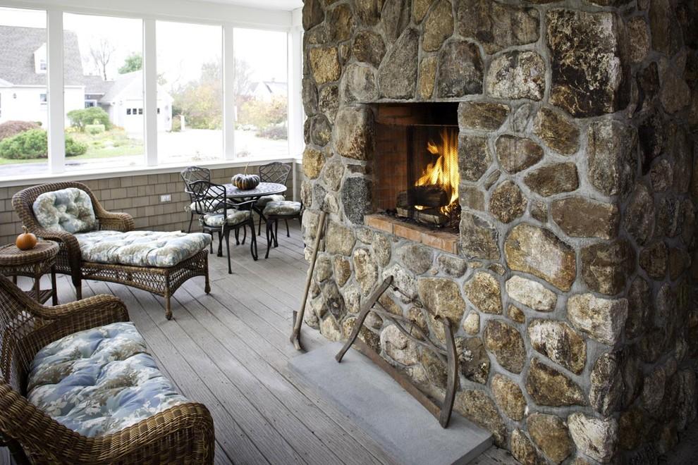 45 fotos de chimeneas r sticas perfectas para tu hogar - Chimeneas de exterior ...