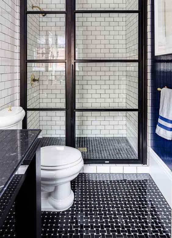 45 Patrones de Azulejos Para Baños Pequeños Que Debes Ver - Estreno Casa