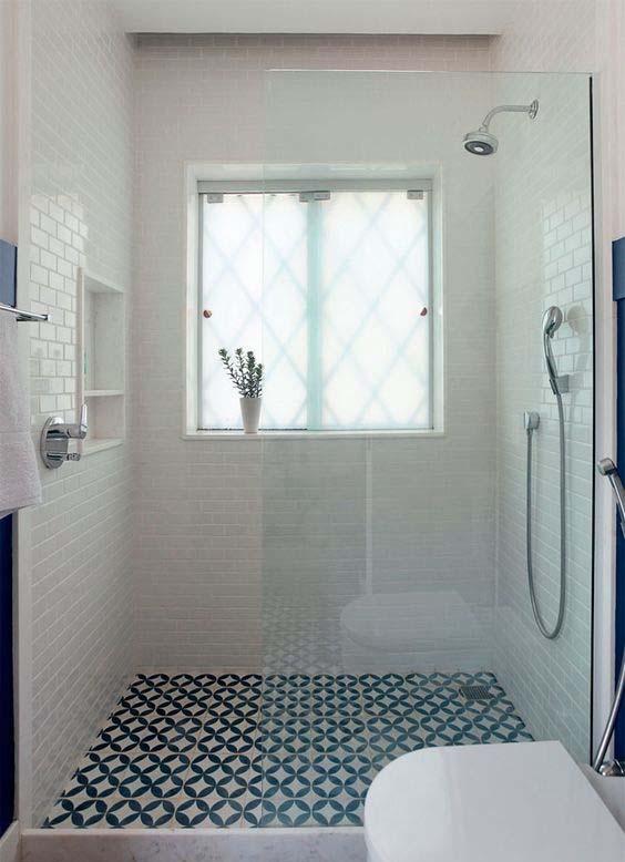 45 patrones de azulejos para ba os peque os que debes ver - Papel para azulejos de bano ...