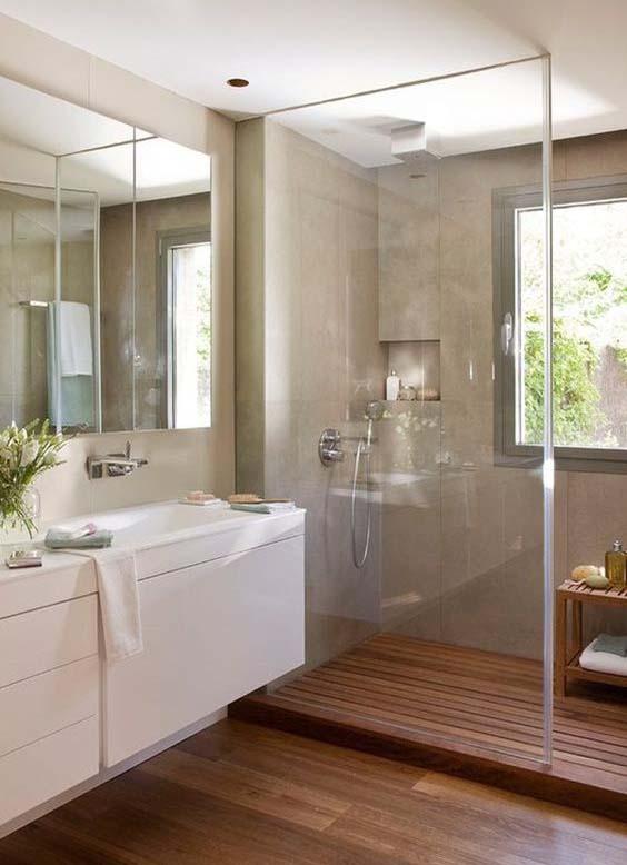 jacuzzi exterior 60 dise os que te encantar n este 2017 estreno 25 Recuerda que los azulejos no son sólo cuestión del piso o la pared, muebles  y los accesorios también pueden ser decorados. Se refuerza el concepto  rústico a ...