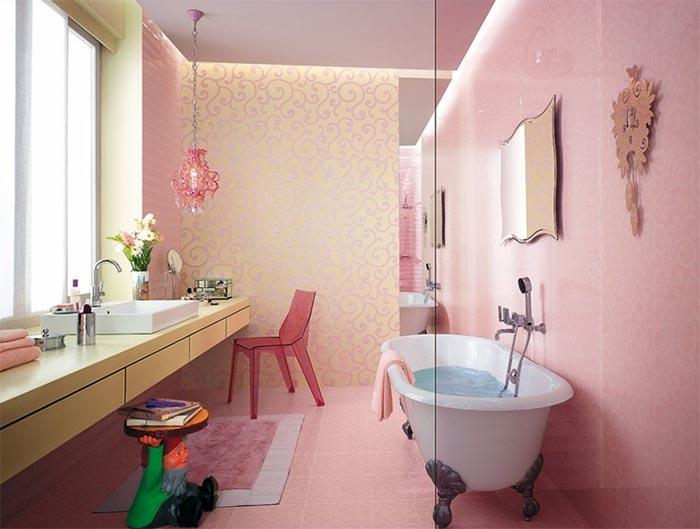 fotos de ideas de azulejos de bañera 45 Patrones De Azulejos Para Baos Pequeos Que Debes Ver