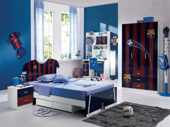41 ideas de colores para habitaciones juveniles estreno for Habitaciones juveniles barcelona