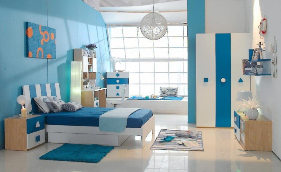 Boy Teen Room Celeste