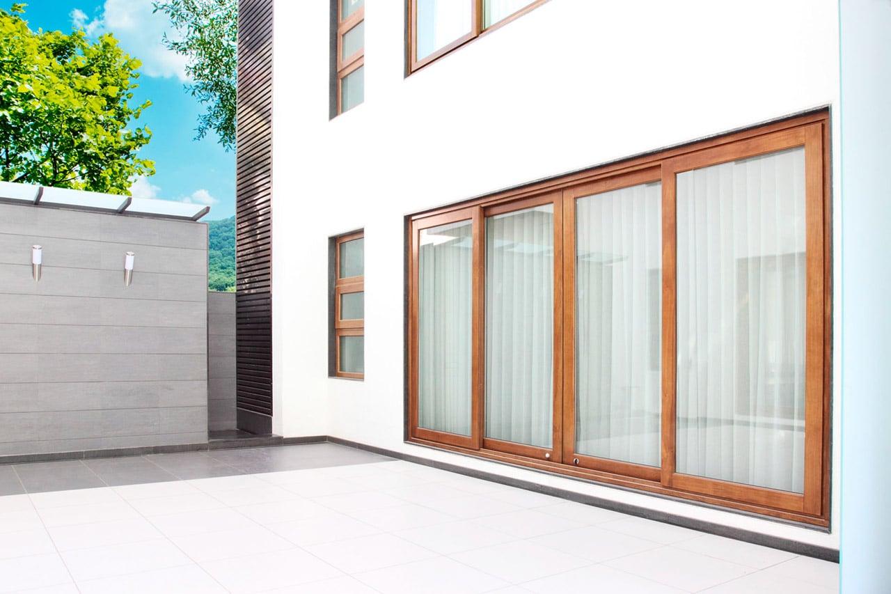 Puertas correderas de exterior 35 modelos para tu hogar for Correderas de madera