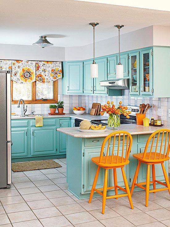 Dise os de cocinas peque as que querr s para la tuya for Muebles de cocina hasta el techo