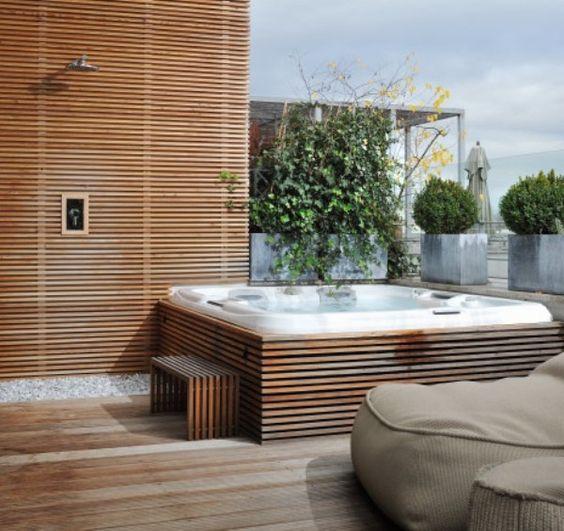 Jacuzzi Exterior 60 Diseños Perfectos Estreno Casa