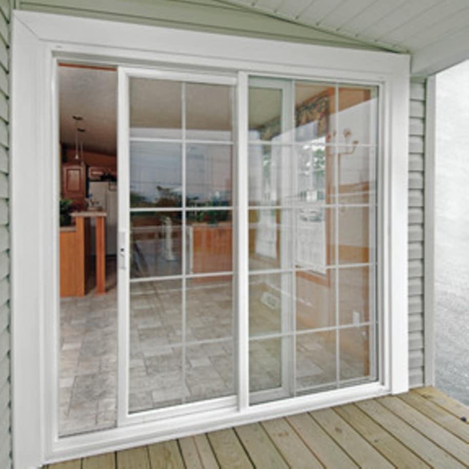 Puertas correderas de exterior 35 modelos para tu hogar for Puertas para patio exterior
