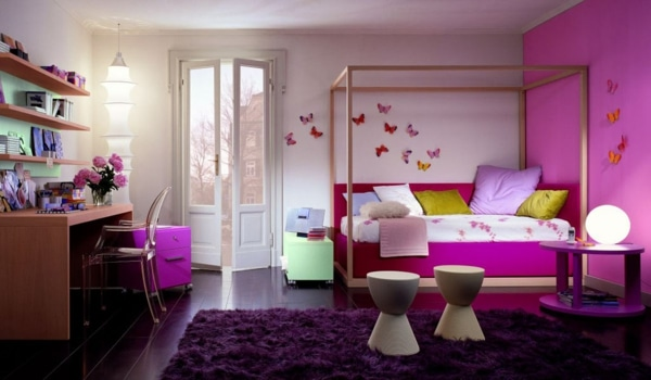 Girl Teen Room MAriposas