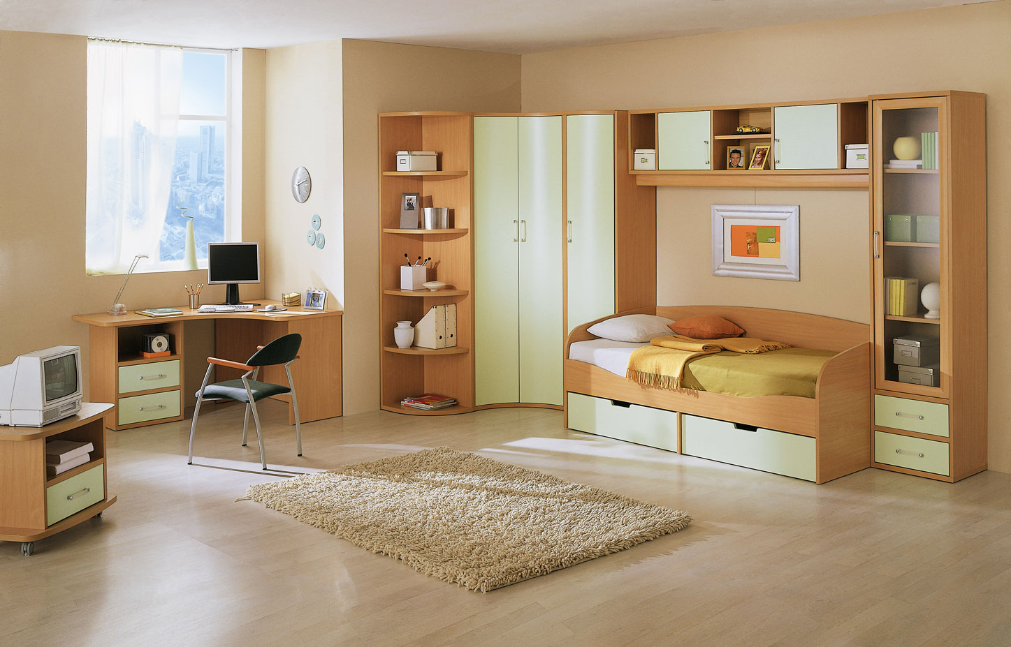 Girl Teen Room Madera