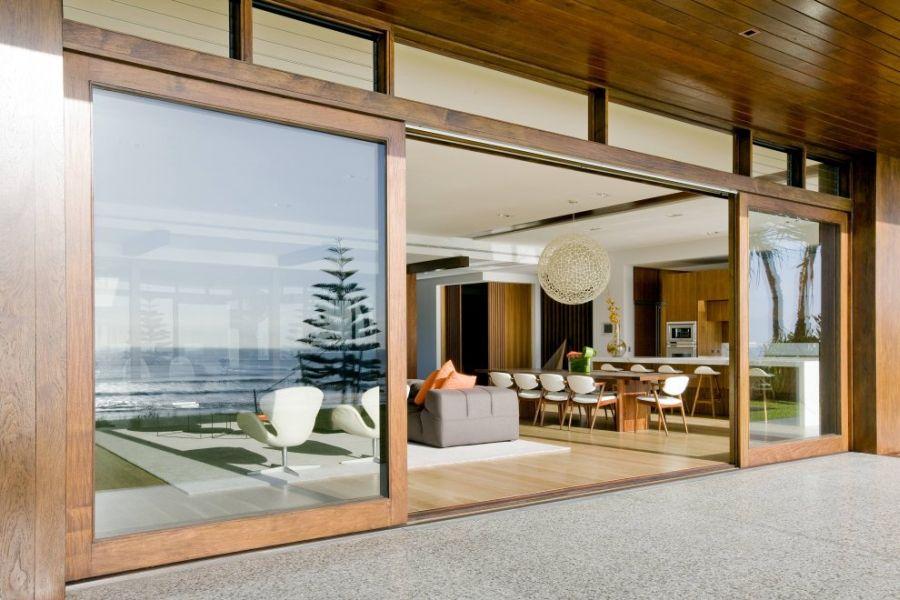 Puertas correderas de exterior 35 modelos para tu hogar for Puertas para separar ambientes
