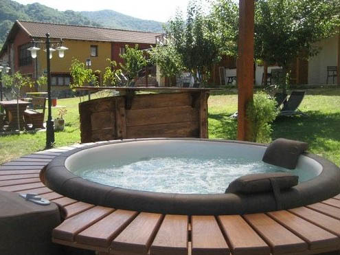 finest awesome jacuzzi campestre jacuzzi exterior campo with jacuzzi exterior with jacuzzis exterior - Jacuzzis Exterior