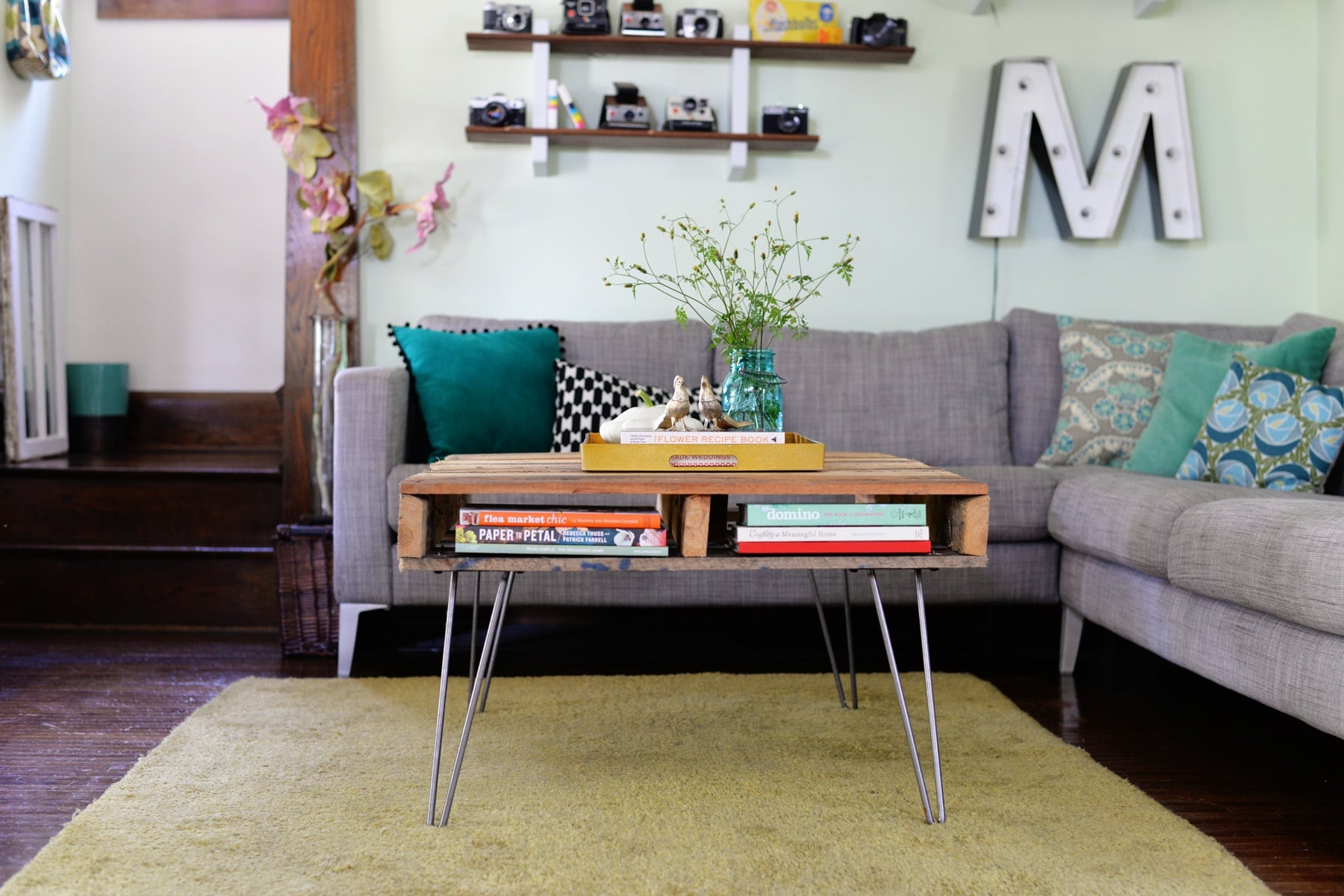 100 dise os de muebles con palets para interior y exterior - Mesa de palets ...