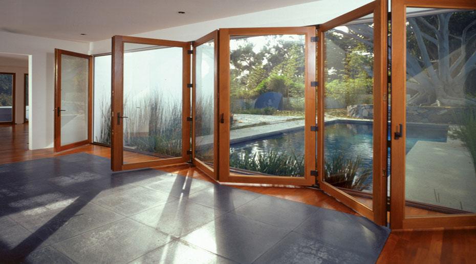 Puertas correderas de exterior 35 modelos para tu hogar - Puertas correderas grandes ...