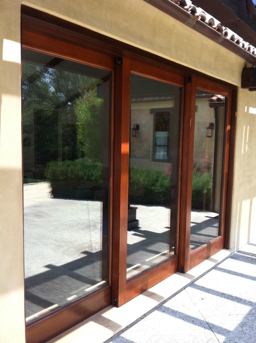 Puertas correderas de exterior 35 modelos para tu hogar - Puerta corredera exterior ...
