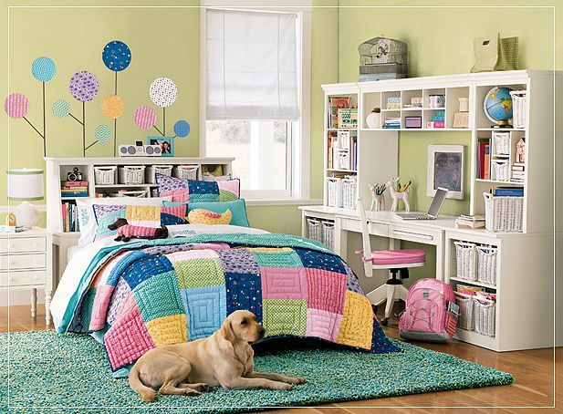 Teen Room Colorful
