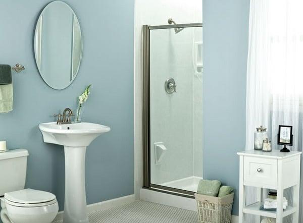 40 ba os peque os con ducha que vas a envidiar estreno casa - Puertas para banos pequenos ...