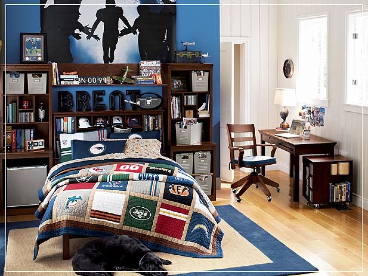 boy room azul