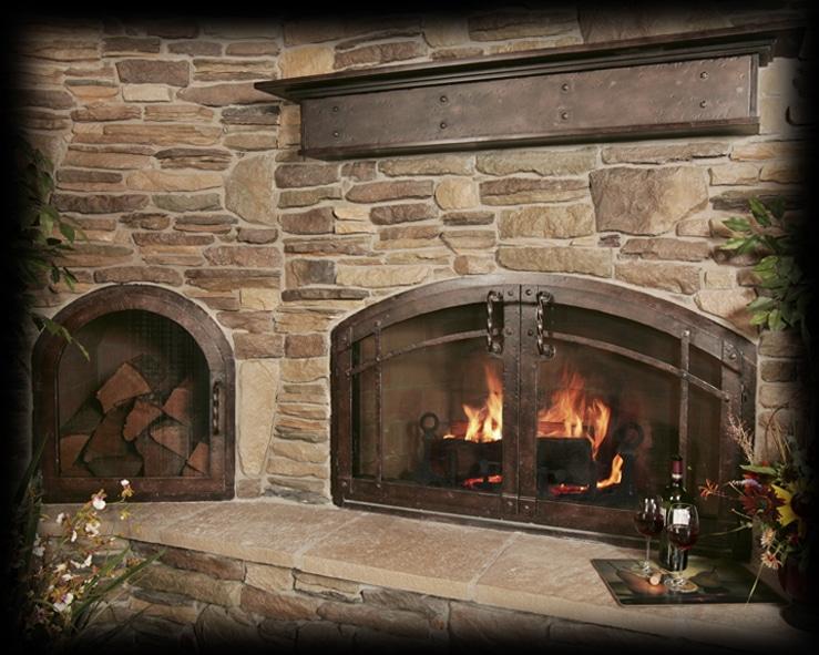 45 fotos de chimeneas r sticas perfectas para tu hogar - La casa de la chimenea ...