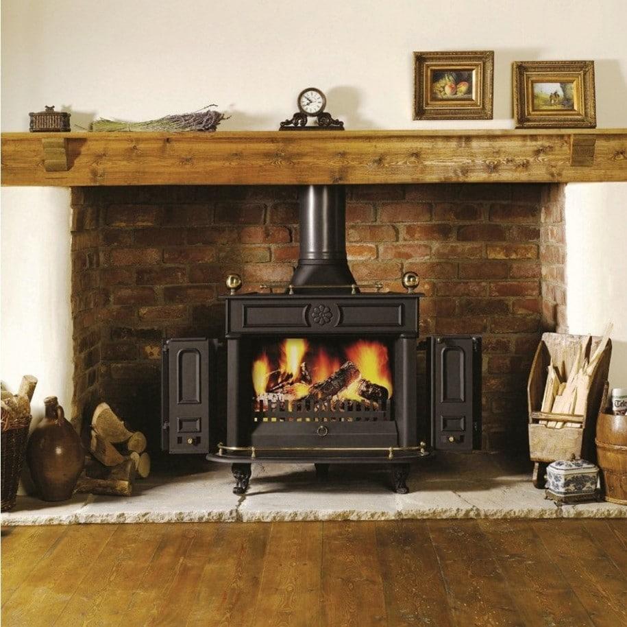 45 fotos de chimeneas r sticas perfectas para tu hogar - Cocinar en la chimenea ...