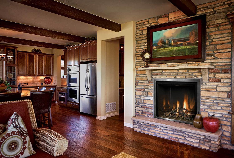 45 fotos de chimeneas r sticas perfectas para tu hogar - Imagenes chimeneas rusticas ...