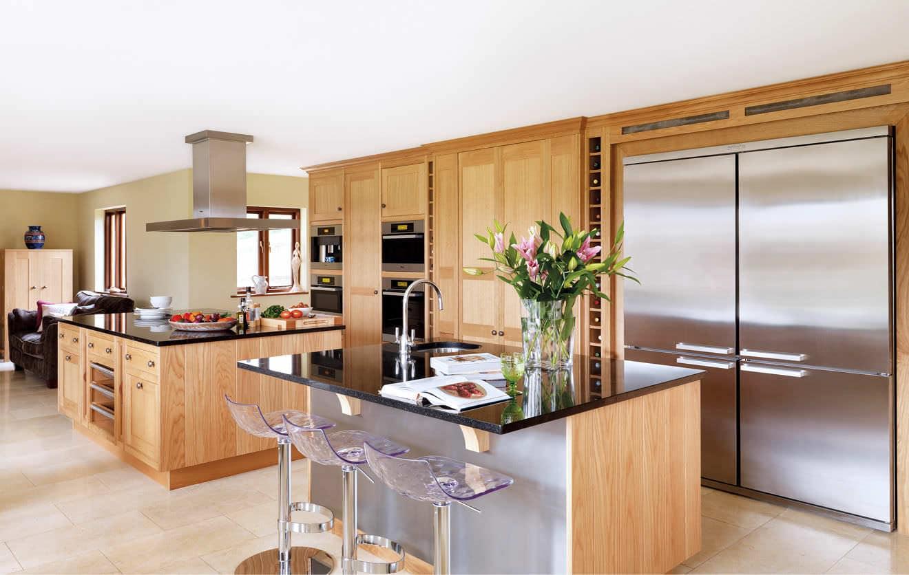 30 fotograf as de maravillosas cocinas con isla estreno casa - Cocinas modernas de madera ...