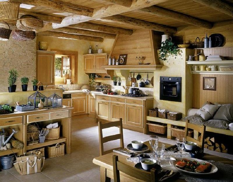 M s de 40 cocinas r sticas que debes ver estreno casa for Cocina rustica que adorna la idea