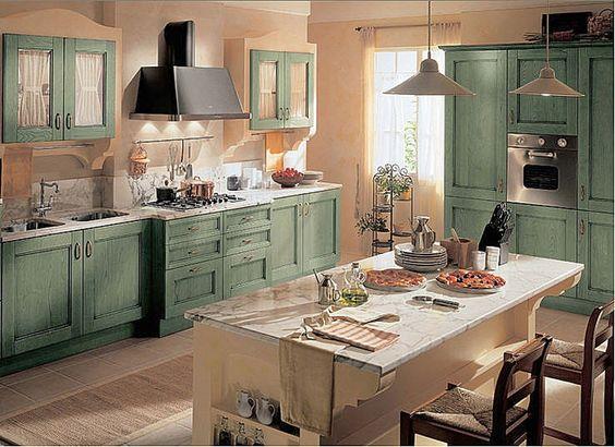 Cocinas originales te mostramos 33 para imitar en tu for Muebles de cocina originales