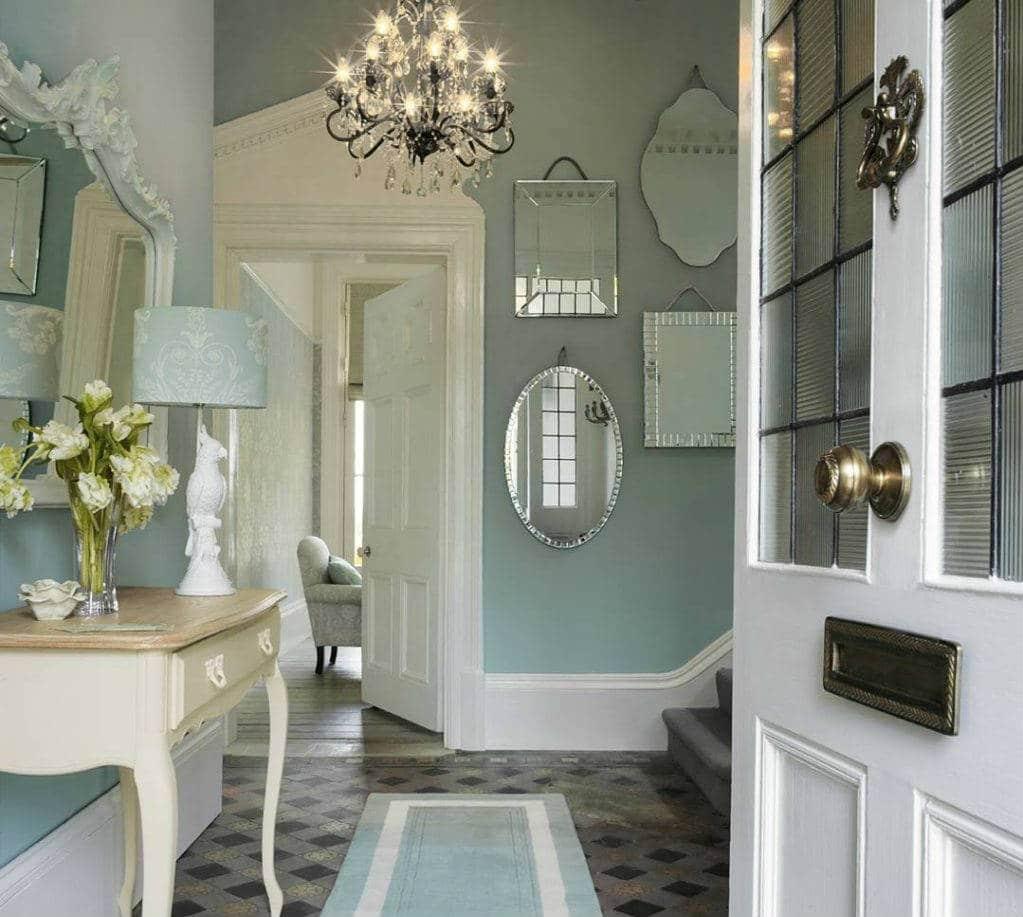 40 formas de decoraci n de pasillos para inspirar el tuyo for Decoracion pasillos