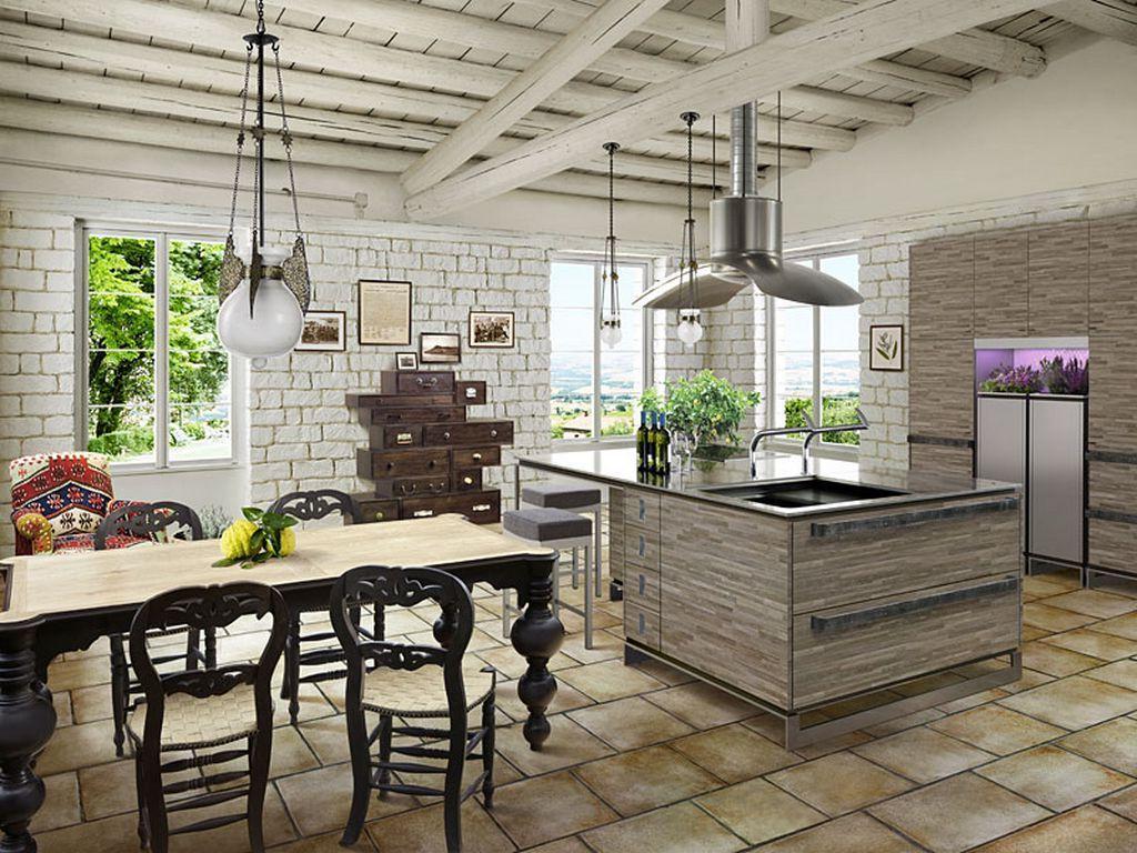 30 Fotografías de Maravillosas Cocinas con Isla - Estreno Casa