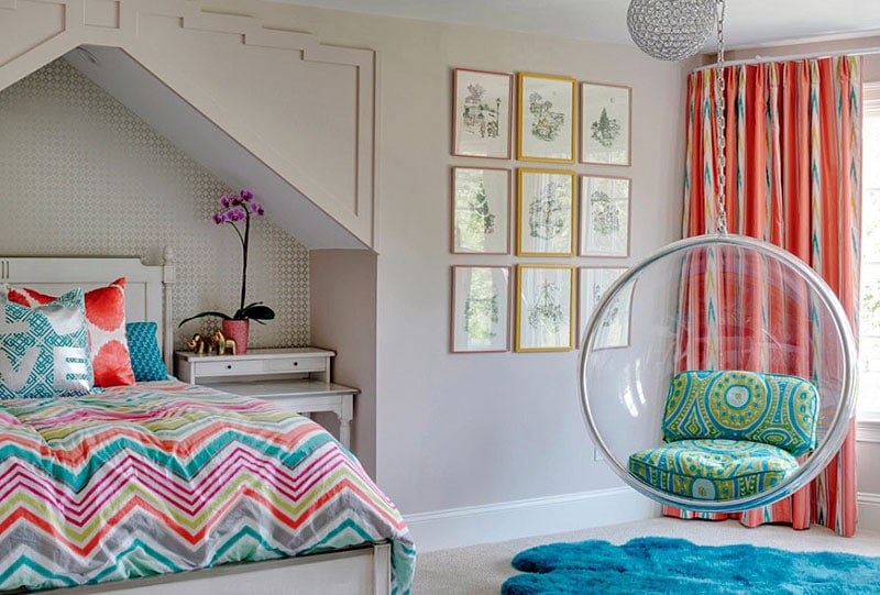 girl room bubble