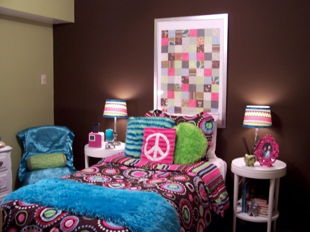 girl room peace