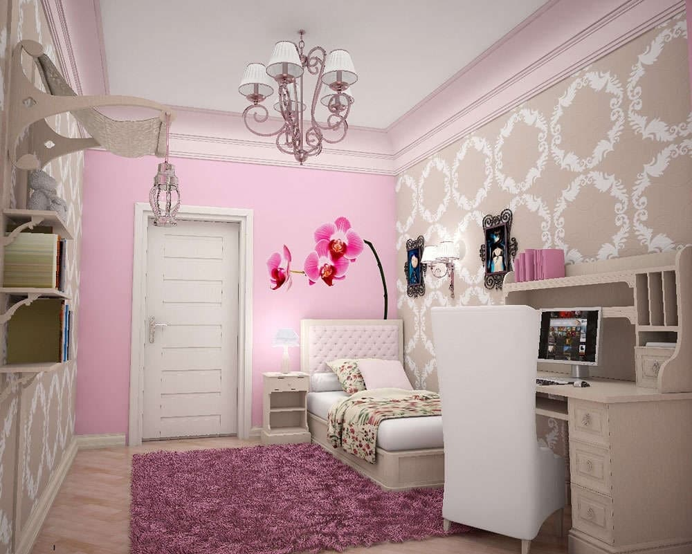girl room romantico